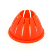 MEC WAD FINGER 28ga OLD STYLE (ORANGE) PLASTIC