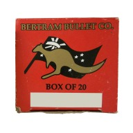Bertram Brass 11.4x51R Unprimed Box of 20