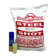 "BPI SHOT STEEL #6 .110"" 10LB PER BAG 5/CS"