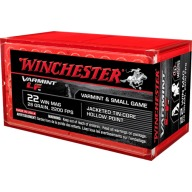 WINCHESTER AMMO 22 MAG 28gr JHP LEAD-FREE 50/bx 40/cs