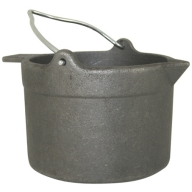 LYMAN CAST IRON LEAD POT 10LBS CAPACITY 4/cs