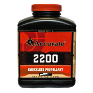 Accurate 2200 Smokeless Powder 8 Pound