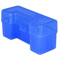 BERRY 45-70/SIMILAR HINGE TOP BOX 20-RND BLUE 50/cs