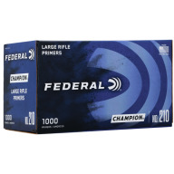 FEDERAL PRIMER LARGE RIFLE 1000/BOX