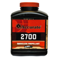 Accurate 2700 Smokeless Powder 8 Pound