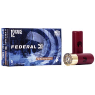 "FEDERAL SLUG 12ga 2.75"" MAXd 1oz HP-SABOT 5/bx 50/cs"