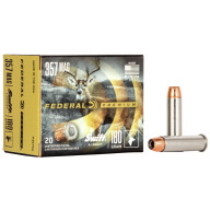 FEDERAL AMMO 357 MAG 180gr SWIFT A-FRAME 20/bx 10/cs