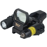 BSA PANORAMIC REFLEX RED/ GRN 4-RET. w/LASER/LIGHT