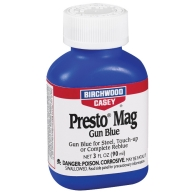 BIRCHWOOD-CASEY PRESTO BLUE MAGNUM GUN BLUE 3oz 6/cs