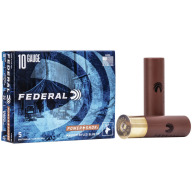 "FEDERAL SLUG 10ga 3.5"" MAGd 1.75oz HP-RIFLED 5/b 10/c"