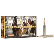 FEDERAL AMMO 270 WINCHESTER 130gr TROPHY COPPER 20/bx 10/cs