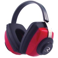 RADIANS COMPETITOR EAR MUFF RED NRR26db