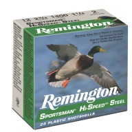 "REMINGTON AMMO 10ga 3.5"" STEEL 1500fps 1-3/8 #2 25b 10c"