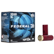 FEDERAL TOP GUN 12ga 2.75dram 1oz 1180fps #7.5 250/cs