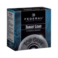 FEDERAL TOP GUN 12ga 3 DRAM 1oz 1250fps #8 250/cs