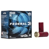 FEDERAL TOP GUN 12ga 2.75dram 1-1/8oz 1145fps #9 250/cs