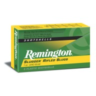 "REMINGTON SLUG 12ga 2.75"" 1560 fps RIFLED 1oz 5/bx 50/cs"