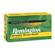 "REMINGTON SLUG 12ga 2.75"" 1680 fps RIFLED 1oz 5/bx 50/cs"