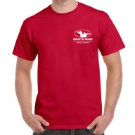 GRAF & SONS T-SHIRT RED EXTRA EXTRA LARGE