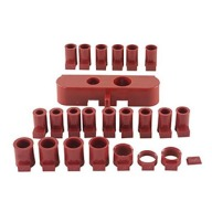 LEE CHARGE BAR & BUSHING KIT 24 SHOT/PWDR BUSHINGS