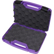 "MTM PISTOL CASE REVOLVER/ AUTO/4"" BBL PURPLE 12/CS"