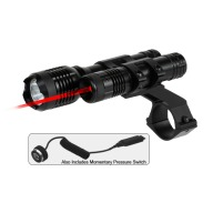 "BSA RED-LASER/FLASHLIGHT VARMINT HUNTER w/1"" MOUNT"