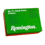 REMINGTON PRIMER 5-1/2 SMALL PISTOL MAGNUM 1000/BOX