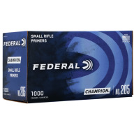 FEDERAL PRIMER SMALL RIFLE 5000/CASE