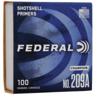 FEDERAL PRIMER 209A SHOTSHELL 1000/BOX