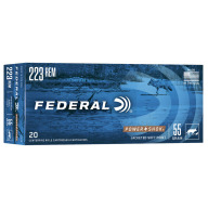 FEDERAL AMMO 223 REMINGTON 55gr SP (P/S) 20/bx 10/cs