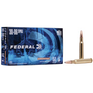 FEDERAL AMMO 30-06 SPR. 150gr SP (P/S) 20/bx 10/cs