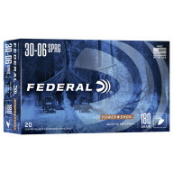 FEDERAL AMMO 30-06 SPR. 180gr SP (P/S) 20/bx 10/cs