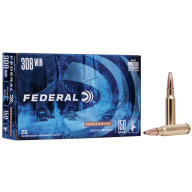 FEDERAL AMMO 308 WINCHESTER 150gr SP (P/S) 20/bx 10/cs