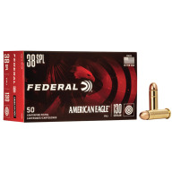FEDERAL AMMO 38 SPL 130gr FMJ AM.-EAGLE 50/bx 20/cs