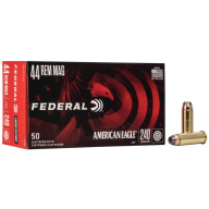 FEDERAL AMMO 44 MAG 240gr SP AM.-EAGLE 50/bx 20/cs