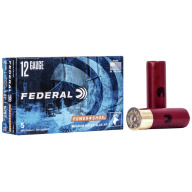"FEDERAL SLUG 12ga 2.75"" MAGd 1.25oz HP-RIFLED 5/b 50/c"