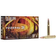FEDERAL AMMO 30-06 SPR. 150gr FUSION-BT 20/bx 10/cs