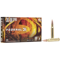 FEDERAL AMMO 30-06 SPR. 180gr FUSION-BT 20/bx 10/cs