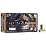 FEDERAL AMMO 38 SPL 148gr LEAD-WC (G/M) 50/b 20/c