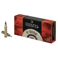 FEDERAL AMMO 223 REMINGTON 40gr NOSLER BT (V/S) 20/bx 10/cs