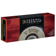 FEDERAL AMMO 223 REMINGTON 43gr TNT GREEN LEAD-FREE 20/b 10/c