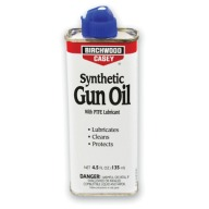 BIRCHWOOD-CASEY SYNTHETIC GUN OIL 4.5oz SPOUT 6/CS