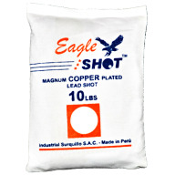EAGLE COPPER PLATED SHOT #6 10LB BAG