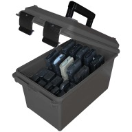 MTM TACTICAL MAG CAN HOLD 10 30RD AR-15 MAGS BLK 6c