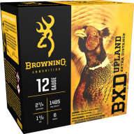 "BROWNING AMMO 12ga 2.75"" 1-3/8 1485fps #6 25/bx 10/cs"