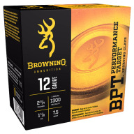 BROWNING AMMO 12ga 3d 1-1/8oz 1300fps #7.5 250/cs