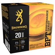 BROWNING AMMO 20ga 2.5d 7/8oz 1300fps #7.5 250/cs
