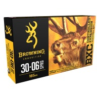 BROWNING AMMO 30-06 SPR 185gr BIG GAME BXC 20/bx 10/cs