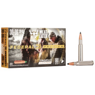 FEDERAL AMMO 30-06 SPR. 180gr TROPHY COPPER 20/bx 10/cs