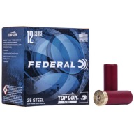 FEDERAL TOP GUN 12ga STEEL 1-1/8oz 1145fps #7.5 250c